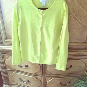 Sutton Studio Lime green Sweater